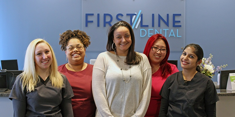 The First Line Dental team
